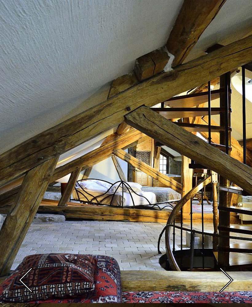la habitación Loft