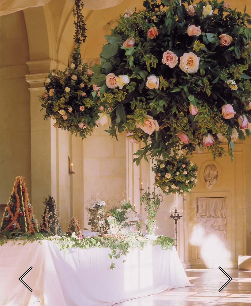 дневная галерея во время свадьбы
