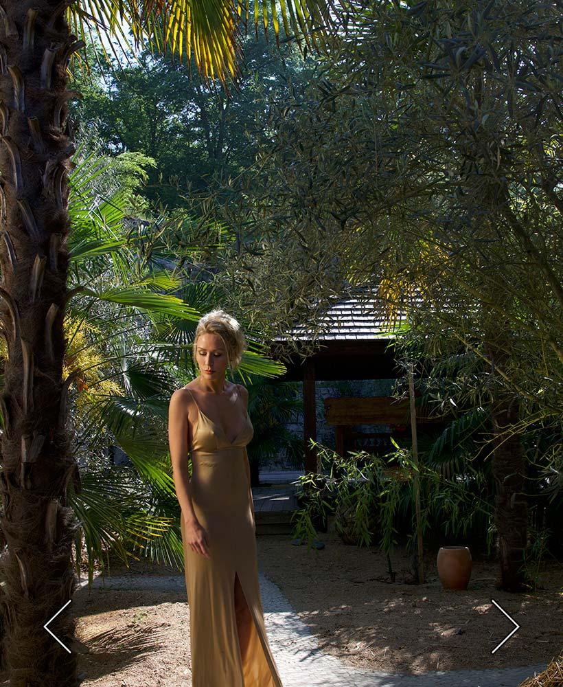 der Pavillon des Palmenhains