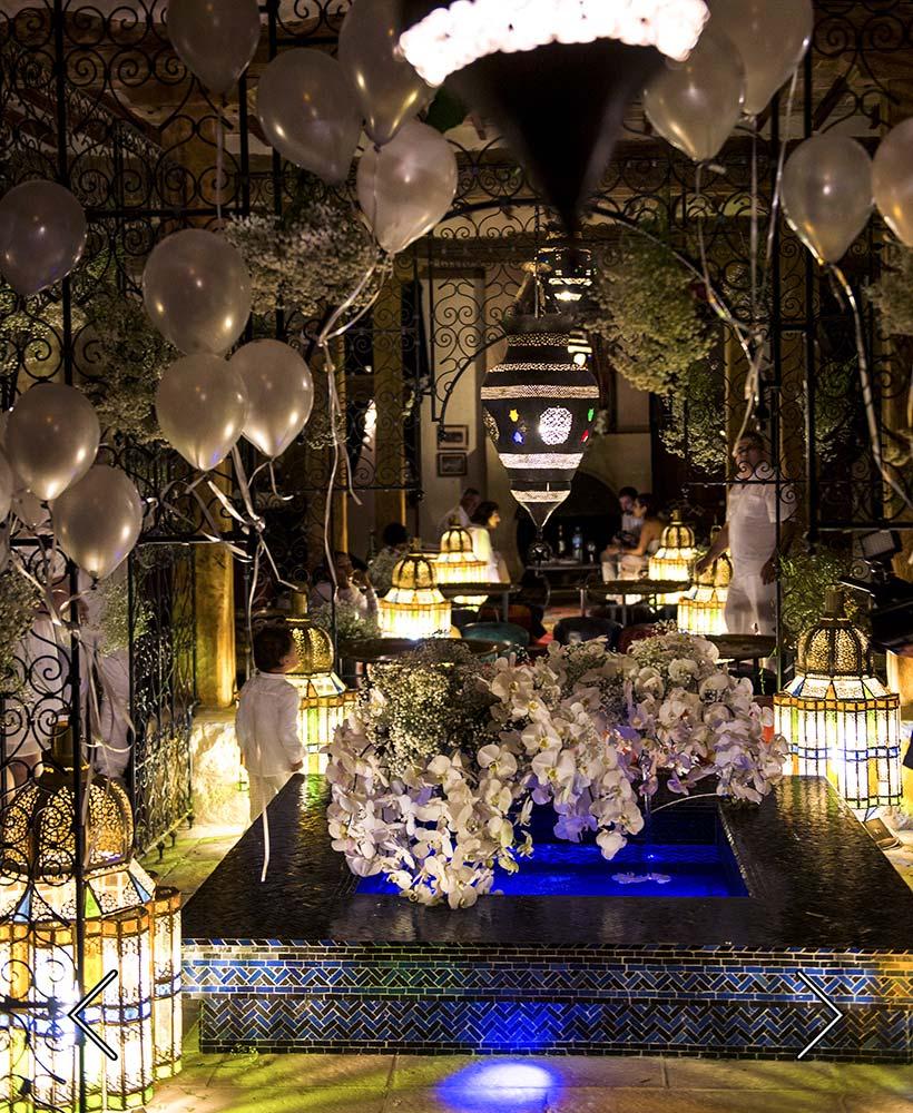 boda en la sala oriental