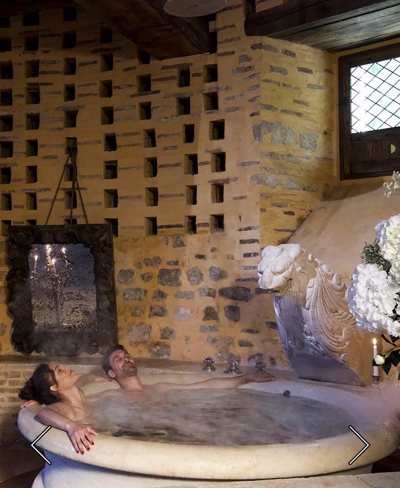 el baño de la suite nupcial
