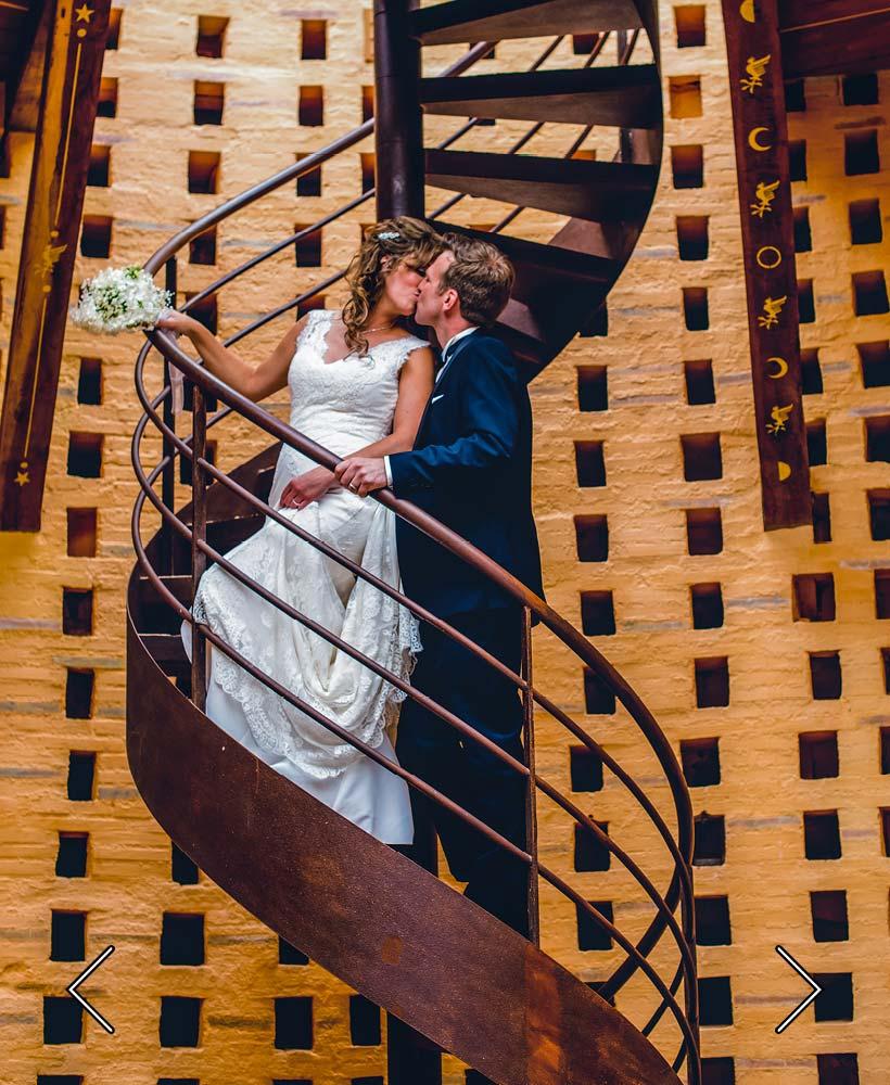 trappan som leder till sovrummet