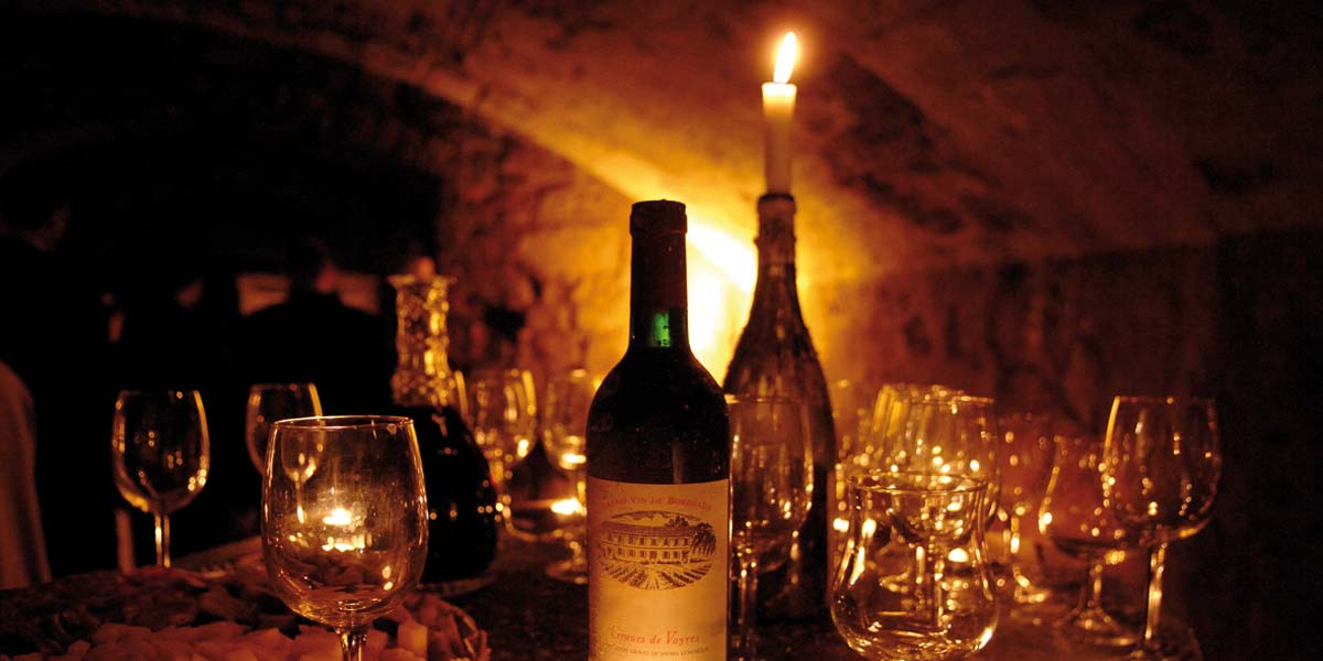 medieval cellars ambiance