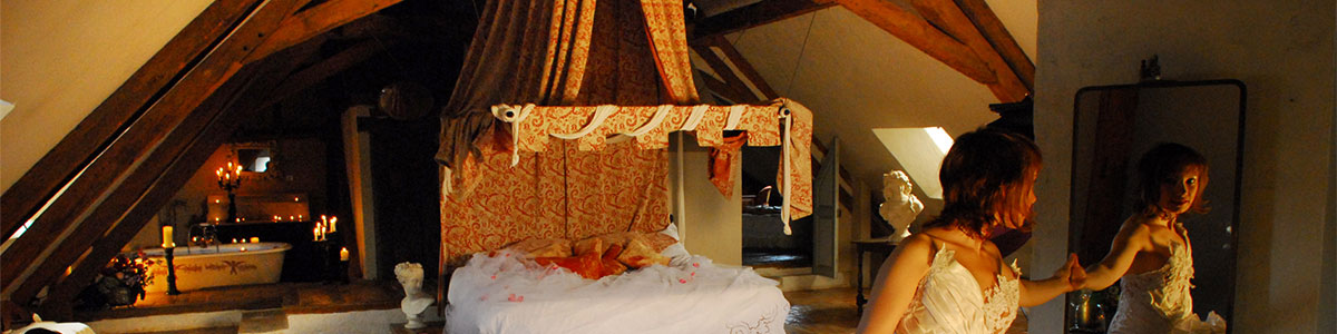 wedding package in France includes bedrooms