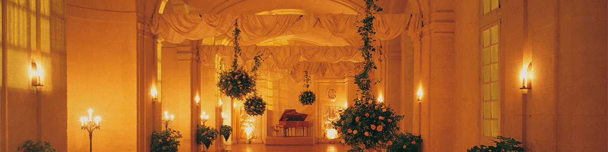 Grande Galerie in France wedding package