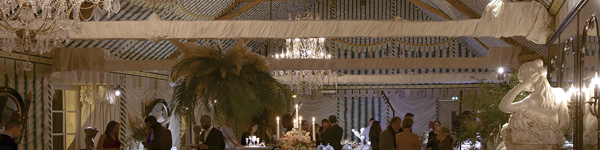 wedding package in a chateau in France : Salle des Tentures