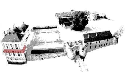 entresol du château Renaissance