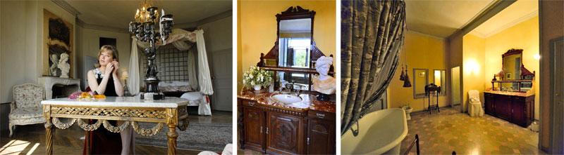 chambre et bains Grand Condé