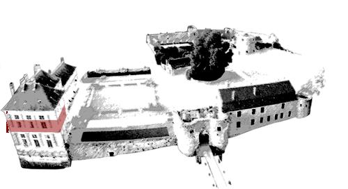 premier étage du château Renaissance