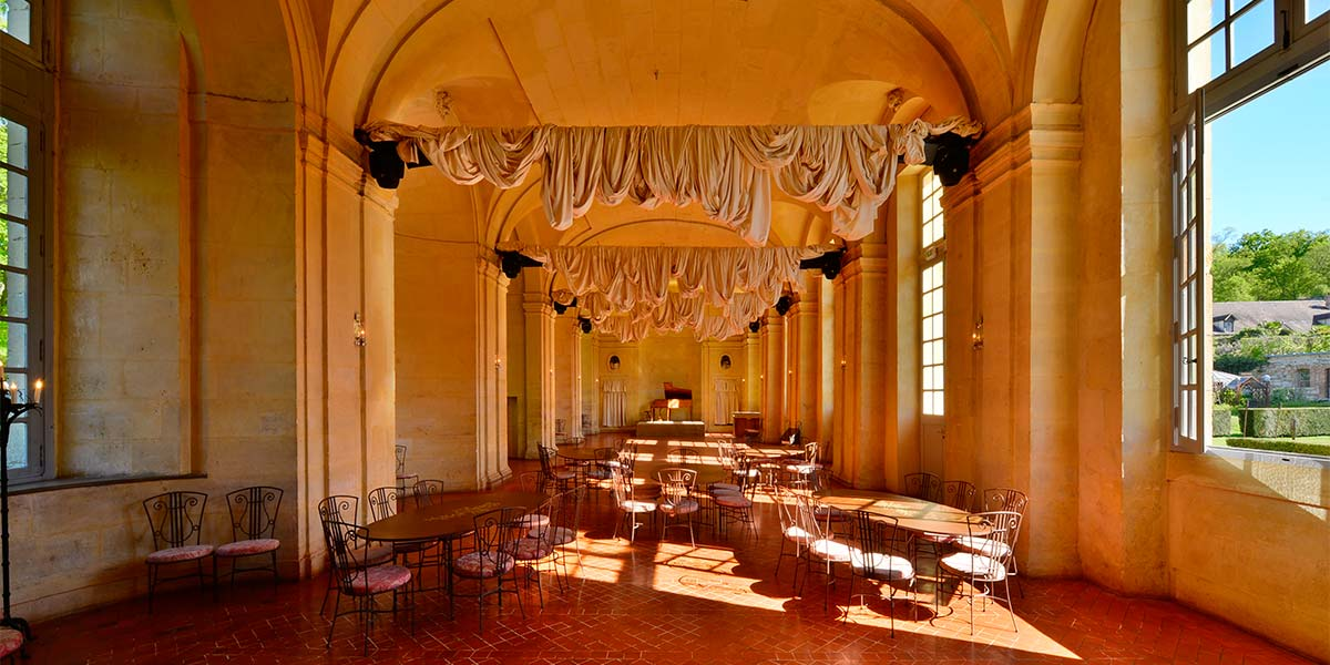 Grande Galerie, a wedding room at the chateau