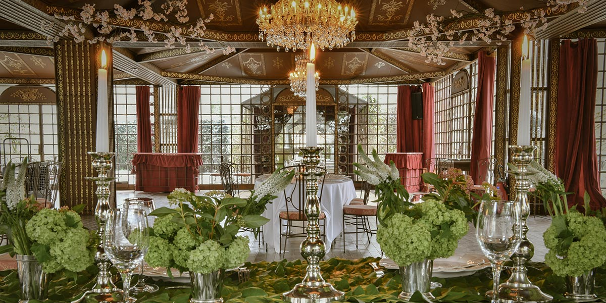 large french reception room in a french venue