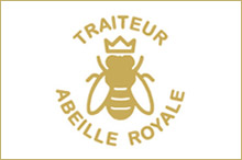 Abeille Royale catering at the chateau